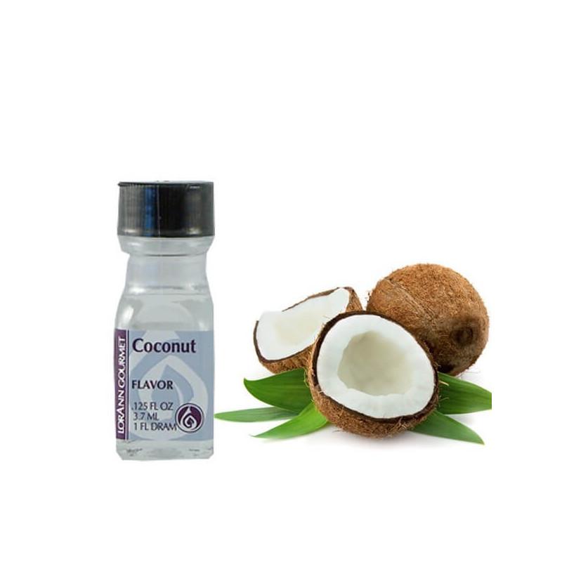 Aroma y sabor concentrado de coco 3.7ml