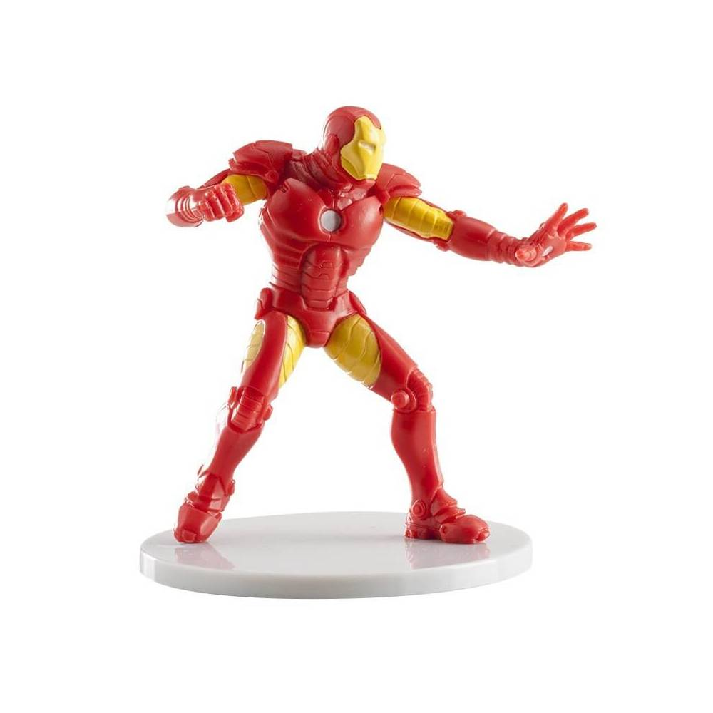 figurine iron man en plastique 8cm cake design et patisserie. Black Bedroom Furniture Sets. Home Design Ideas