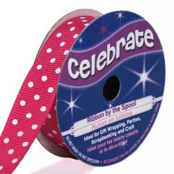 Pink pea 13mm ribbons