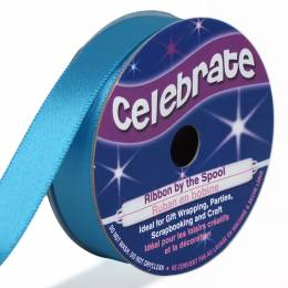 Blue 13mm Satin Ribbon
