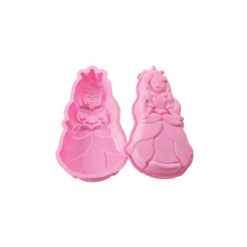 Molde de silicona princesa 3D Cake