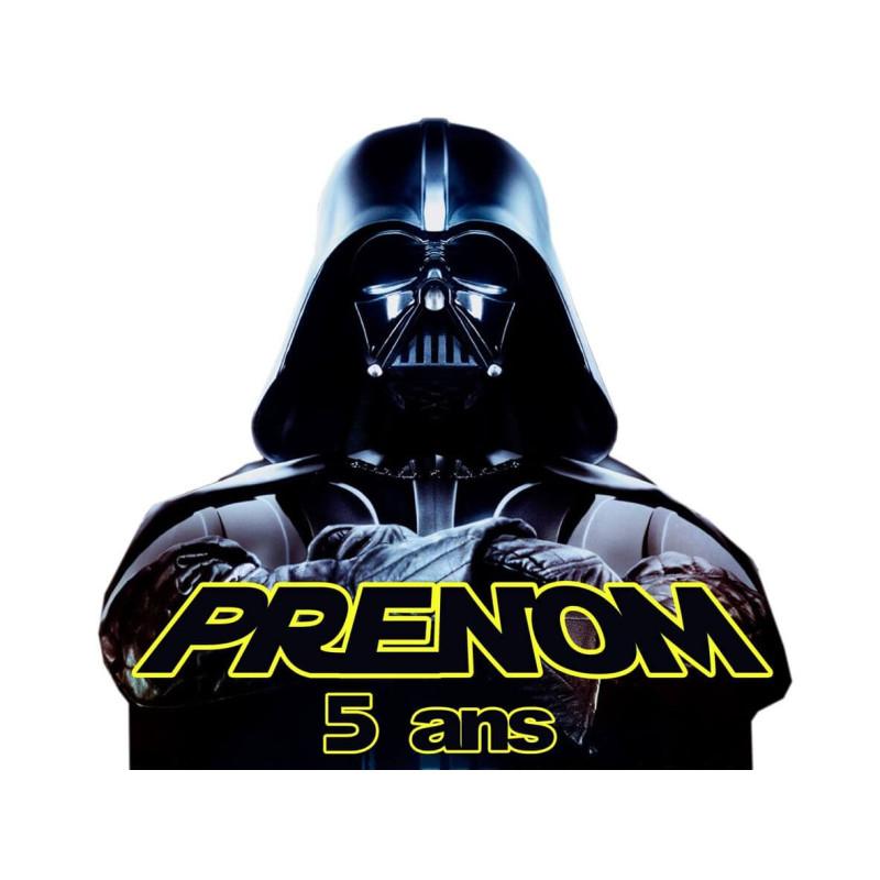 Food printing Darth Vader STAR WARS personalized