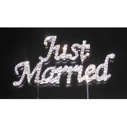 Just Married en Strass