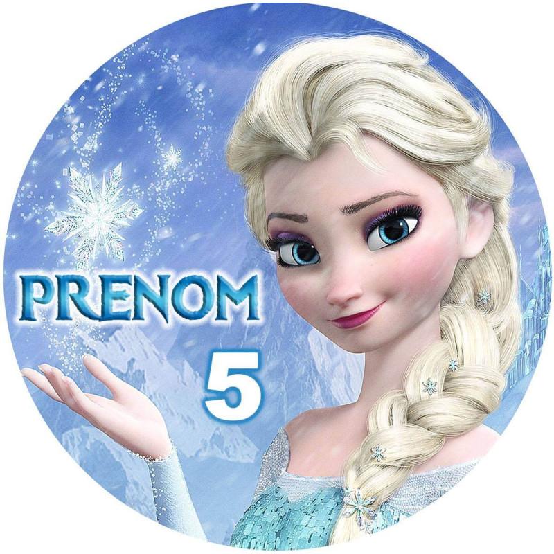 Impresión de alimentos personalizada de Snow Queen