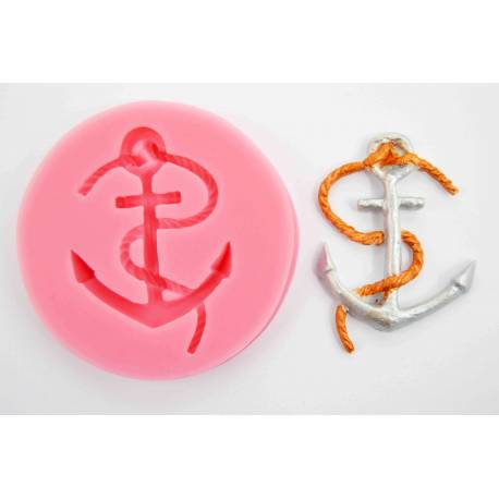 Silicone mold Boat Anchor
