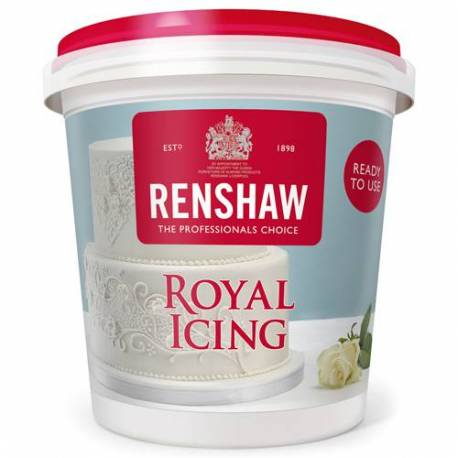 Royal white icing ready to use in 400g jars