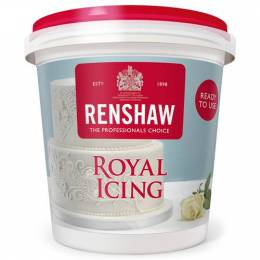 Royal icing ready for use in a 400g pot