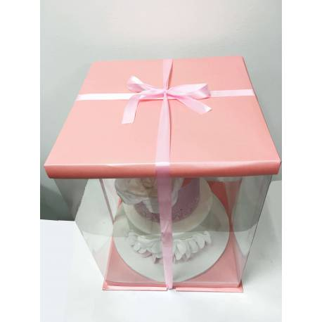 Cake Box (30x30x40cm) Rose Expo