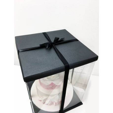Expo Cake Box Black (30x30x40cm)