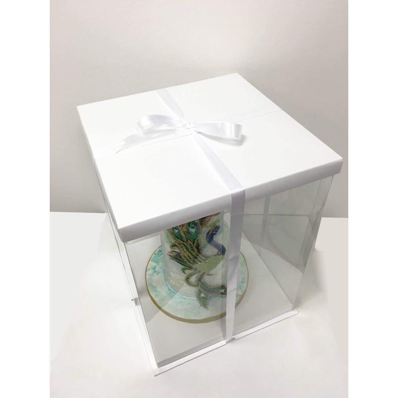 Expo Cake Box White (30x30x40cm)