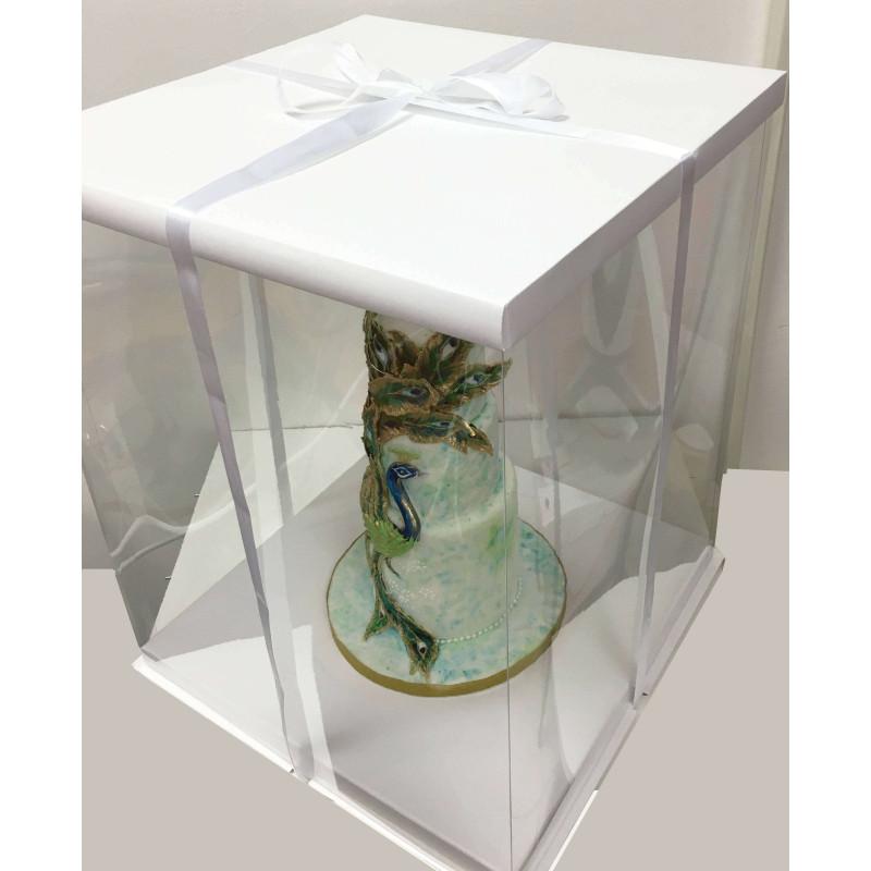 Boite à Gateau Expo Cake Box Blanche (40x40x50cm)