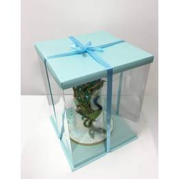 The Expo Cake Box Blue (30x30x40cm)