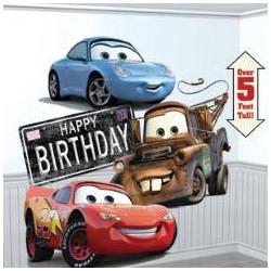 Scène décorative géante Cars