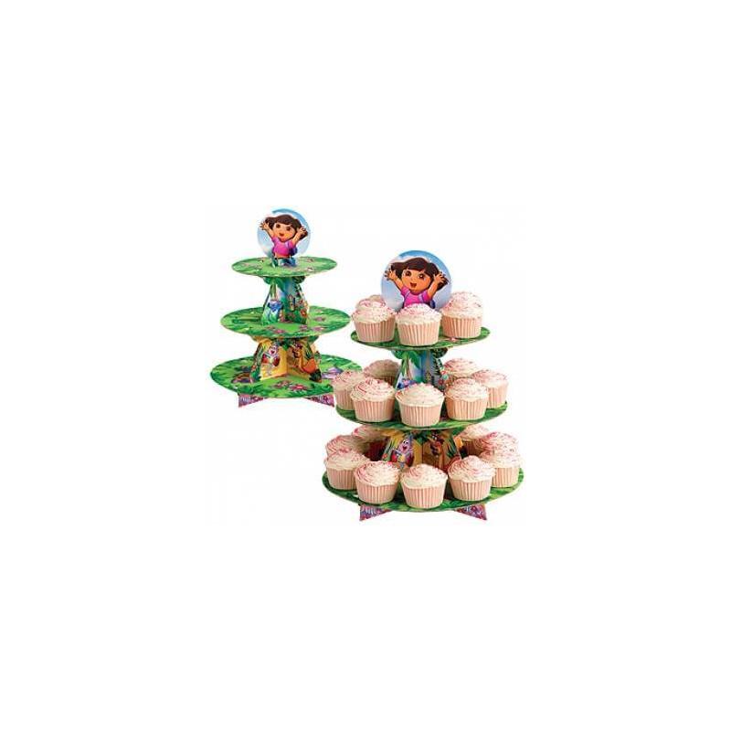 Cake Design Dora L Exploratrice : Presentoir a gateau Dora l exploratrice Cake design et ...