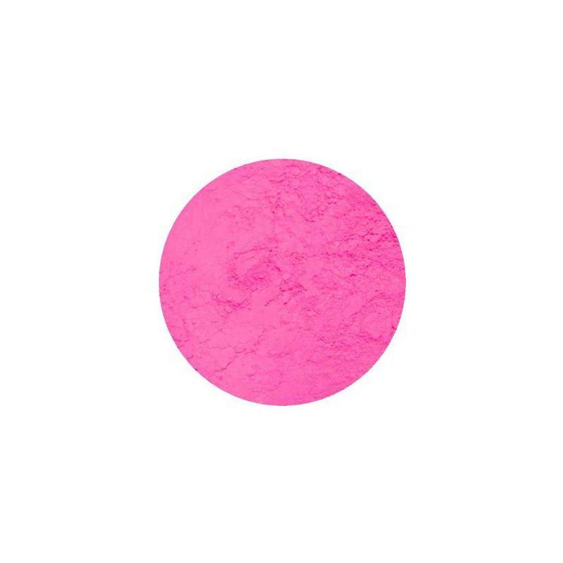 Colorant en poudre fluorescent rose Rolkem 5,7g