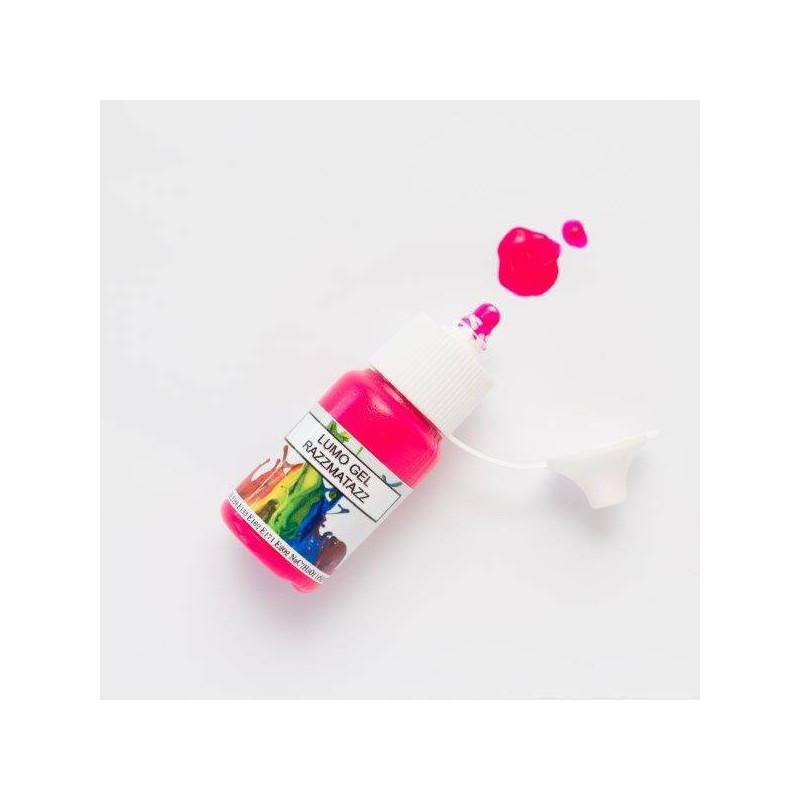 Colorant en gel fluorescent rose fuchsia Rolkem 15 ml