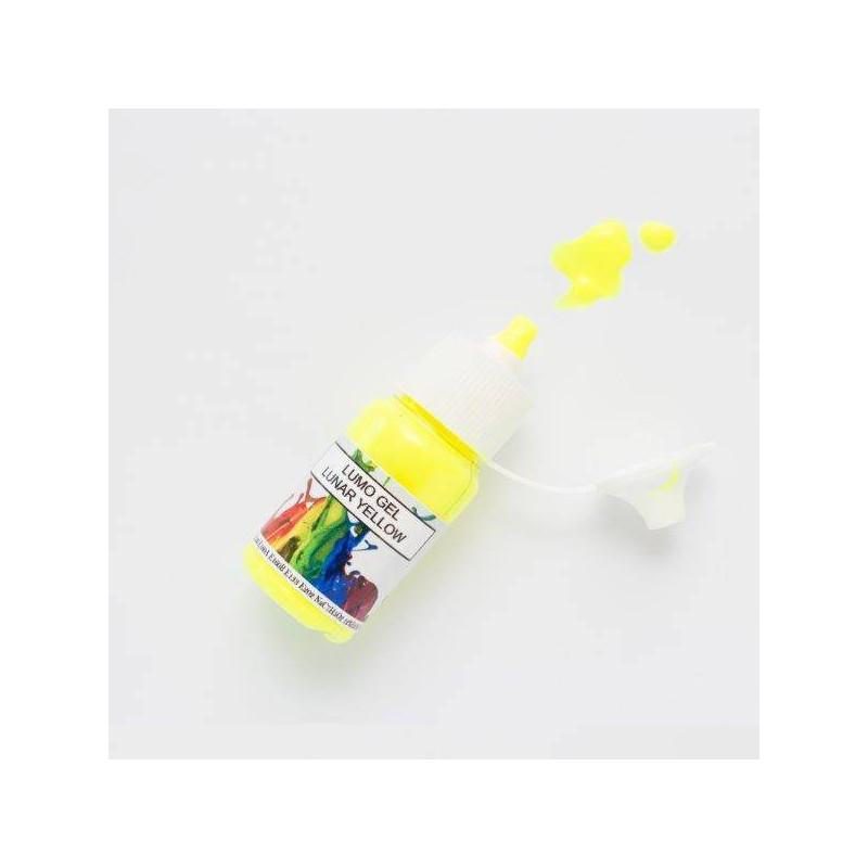 Colorant en gel fluorescent jaune Rolkem 15ml