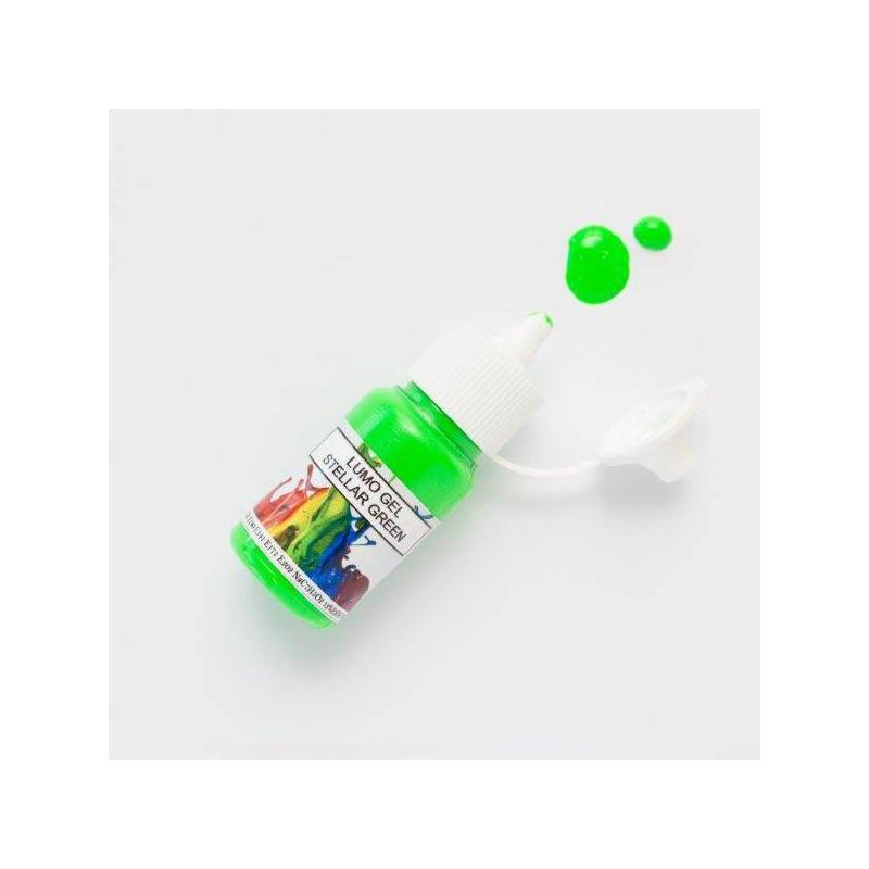 Colorant en gel fluorescent vert Rolkem 15ml