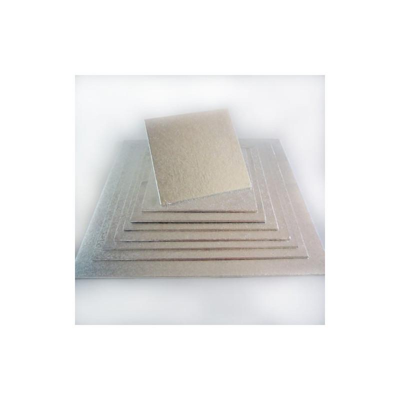 Base fina para tortas cuadradas 17x17 cm
