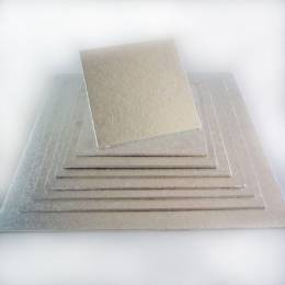 Square Cake board 17 cm thin 4mm