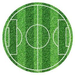 disco de azúcar de fútbol