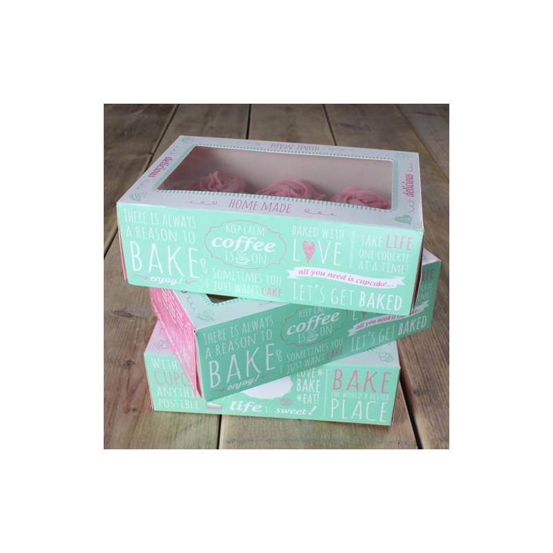 Boîte à Cupcakes Citations (3 pcs)