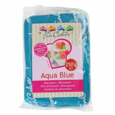 Pâte d'amande bleue Aqua - 250g