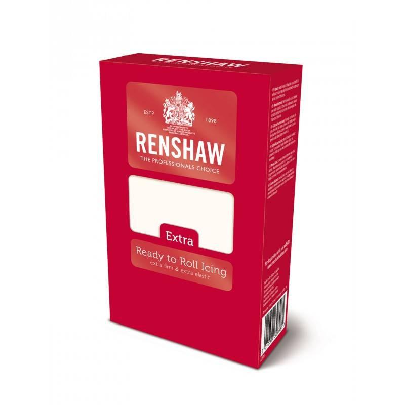 Pâte à sucre Renshaw EXTRA BLANCHE 1 kg