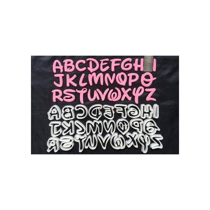 Cortadores de abecedario Modelo pequeño de Disney Abecedario