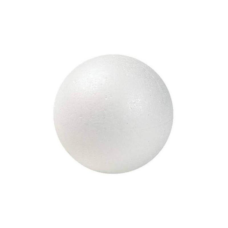 Boule en polystyrène Ø 6 cm pour Modelages