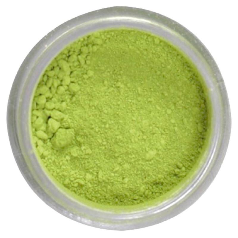 Powder CITRUS GREEN colour Rainbow Dust