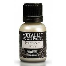 Ivory paint metallic
