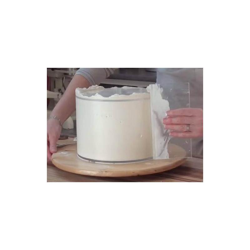 Acrylic ganache straightener 23 cm