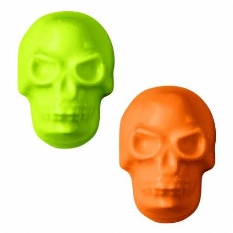 Wilton Halloween Mini Skull and Crossbones Chocolate Mould