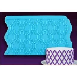 Mold silicone effect Moroccan
