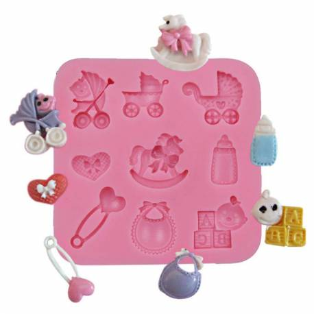 Silicone mold BABY ACCESSORIES