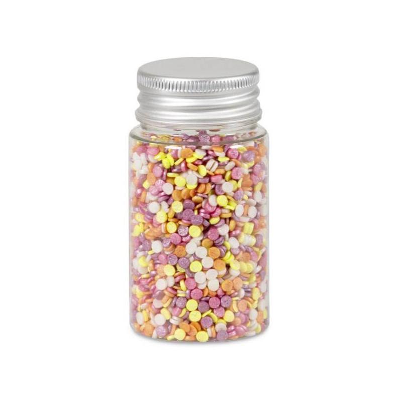 Confettis de sucre multicolore Exotique 50 g
