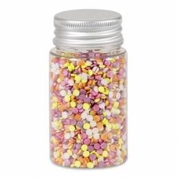Confettis de sucre multicolore Exotique