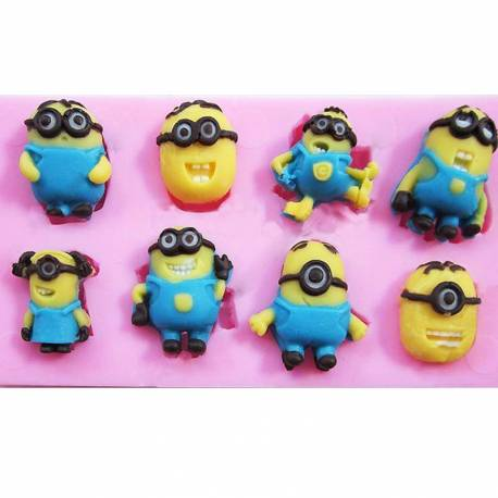 Moule en silicone FIGURINES MINIONS