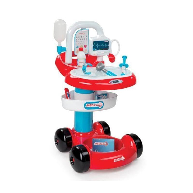 Chariot Medical Docteur SMOBY et 7 accessoires