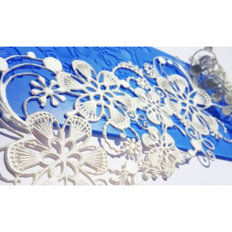 Crystal Candy Lace Mat MAGIC FLOWERS
