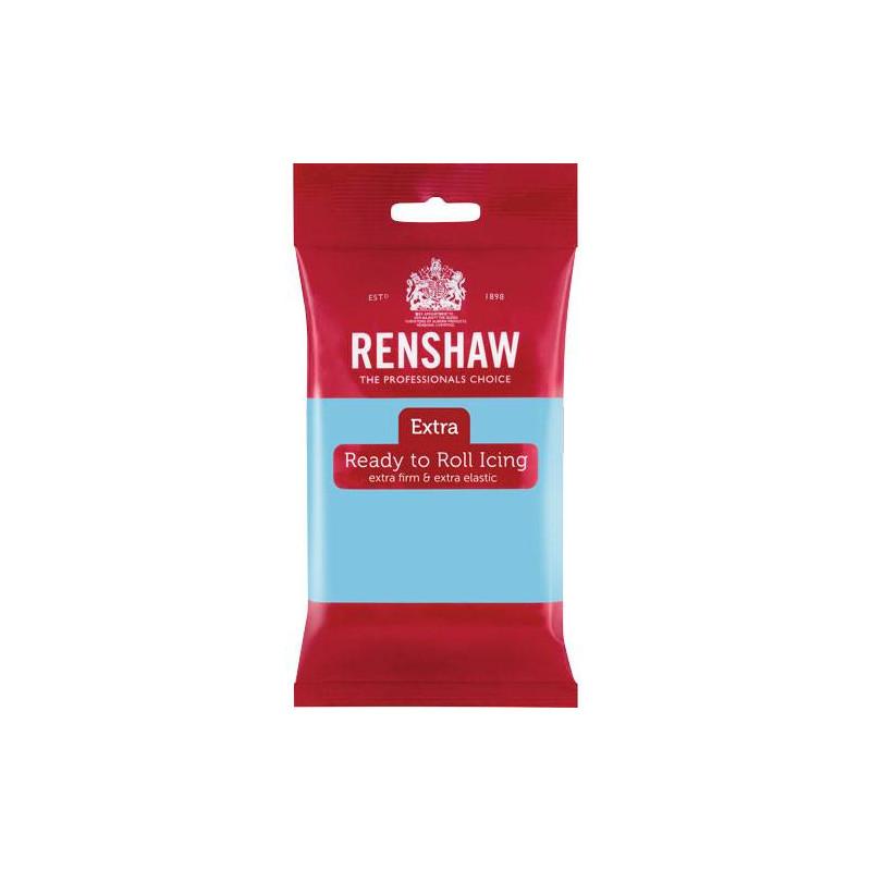 Pâte à sucre Renshaw EXTRA BLEU CIEL 250g