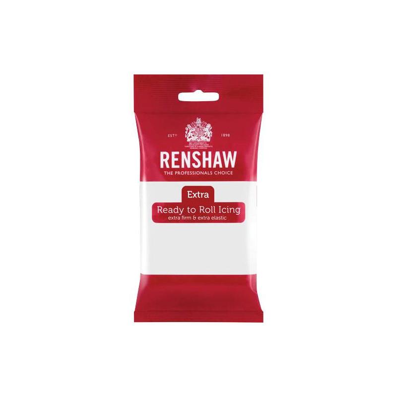 Renshaw EXTRA WHITE Sugar Paste 250g