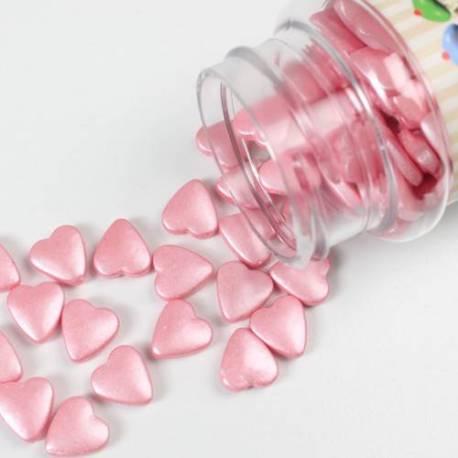 coeurs en sucre ROSE Fun cakes 80 g
