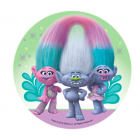 Drive in sugar the Trolls - 3 Trolls green background
