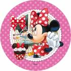 Disque azyme Minnie cupcakes
