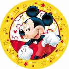 Disc Azyme Mickey yellow outline
