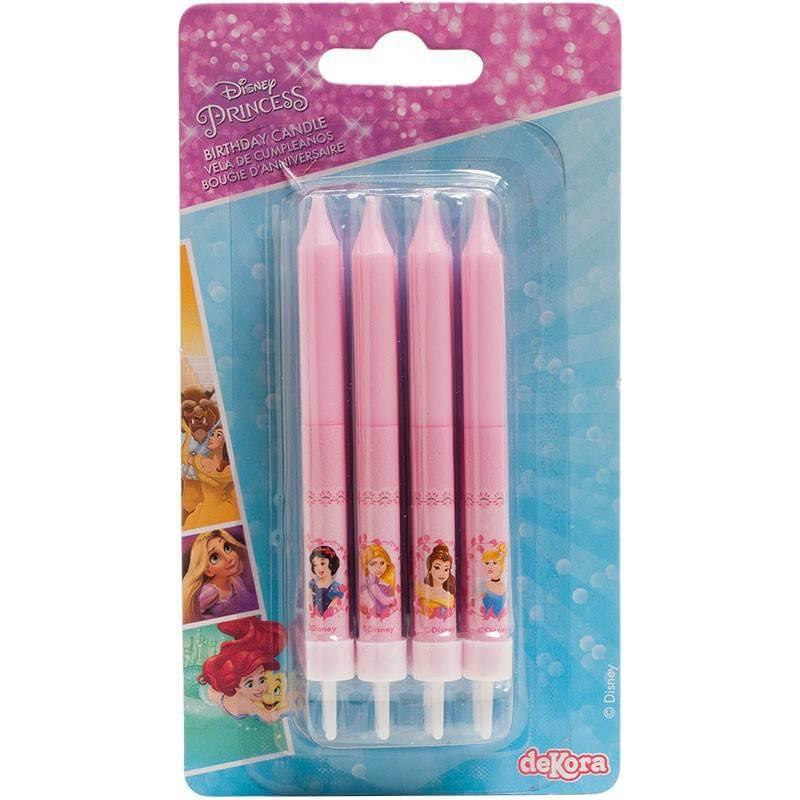 8 Disney Princess Candles