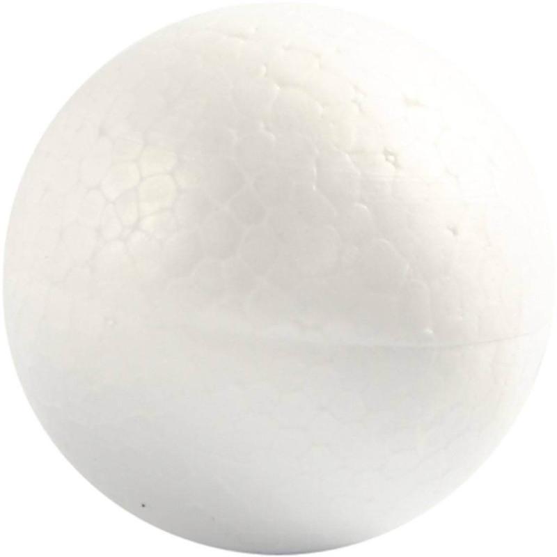 Polystyrene ball 5 cm in diameter