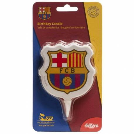 Bougie équipe foot FC Barcelone